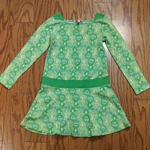Lilly Pulitzer Girls Long Sleeve Monkey Dress
